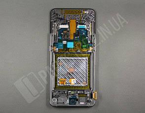 Дисплей Samsung а805 black а80 2019 (GH82-20348A) сервисный оригинал в сборе с рамкой, фото 2