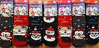 """Дитячі махрові шкарпетки """"Inaltun"""" Туреччина Новий Рік, фото 1"""