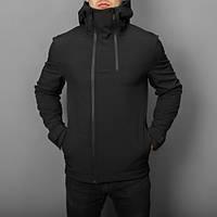"""Мужская демисезонная куртка Pobedov Jacket """"Pyatnitsa"""" Black (S, M, L, XL размеры)"""