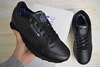 Reebok Classic черные зимние женские кроссовки рибок кросовки