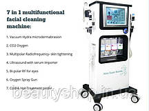 7 в 1 Універсальна машина для чищення Warter Microdermabrasion, догляд за шкірою салон застосування
