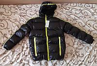 Подростковая евро-зима куртка для мальчика 10-16 лет + ПОДАРОК