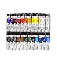 Набор масляных красок 24 цвета по 20 мл Rosa Gallery, 131006