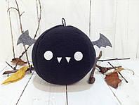 Мягкая игрушка Strekoza Летучая Мышь 13 см черный ручная работа, фото 1