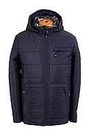 Недорогие зимние куртки мужские от производителя   50-58 темно-синий