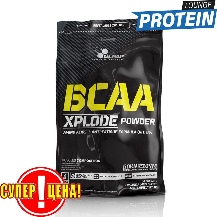 BCAA аминокислоты Olimp BCAA Xplode 1 kg