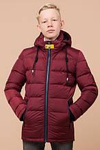 Зимняя куртка на мальчика 60455 бордо