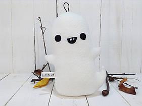 Мягкая игрушка Strekoza Привидение 22 см белый ручная работа серия helloween