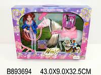 Кукла Winx с лошадью, кор.43*9*32см