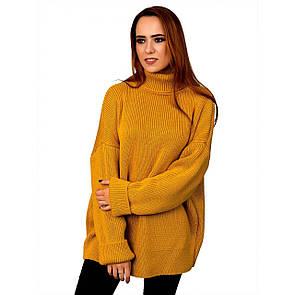 Теплый молодежный свитер