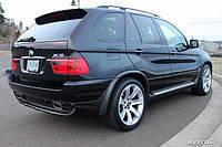 Накладки на арки (под покраску) BMW X5 (E53)