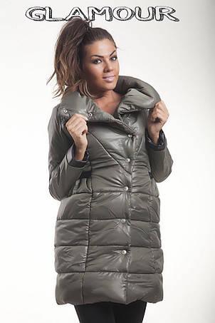 Зимняя куртка на кнопках, фото 2