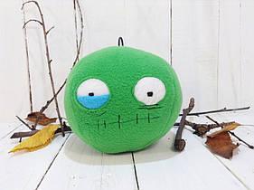Мягкая игрушка Strekoza Зомби 13 см оранжевый ручная работа серия helloween