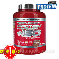 Протеин изолят Scitec Nutrition 100% Whey Protein Professional +ISO 2,28 kg