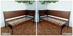 """Односпальная кровать из массива натурального дерева """"Шанталь Премиум"""" от производителя, фото 2"""