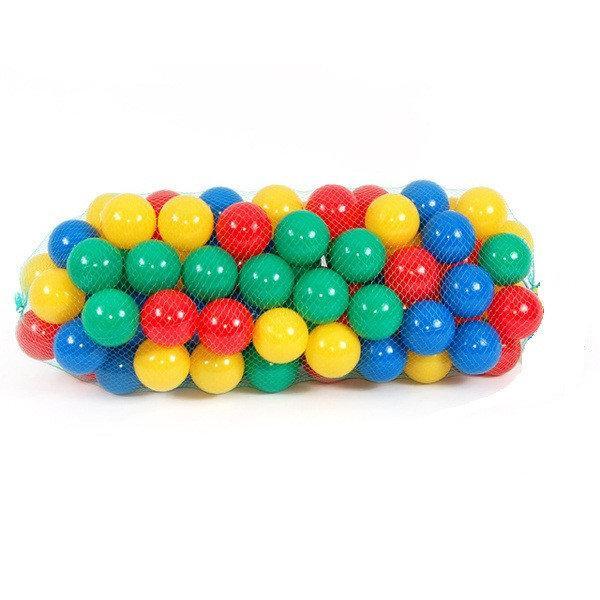 Шарики (мячики) для сухого бассейна мягкие, D=8,2 см (100 шт)