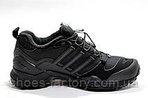 Термо кроссовки в стиле Adidas Terrex Swift Gore-Tex, Black (Флис), фото 2