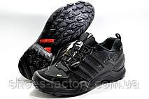 Термо кроссовки в стиле Adidas Terrex Swift Gore-Tex, Black (Флис), фото 3