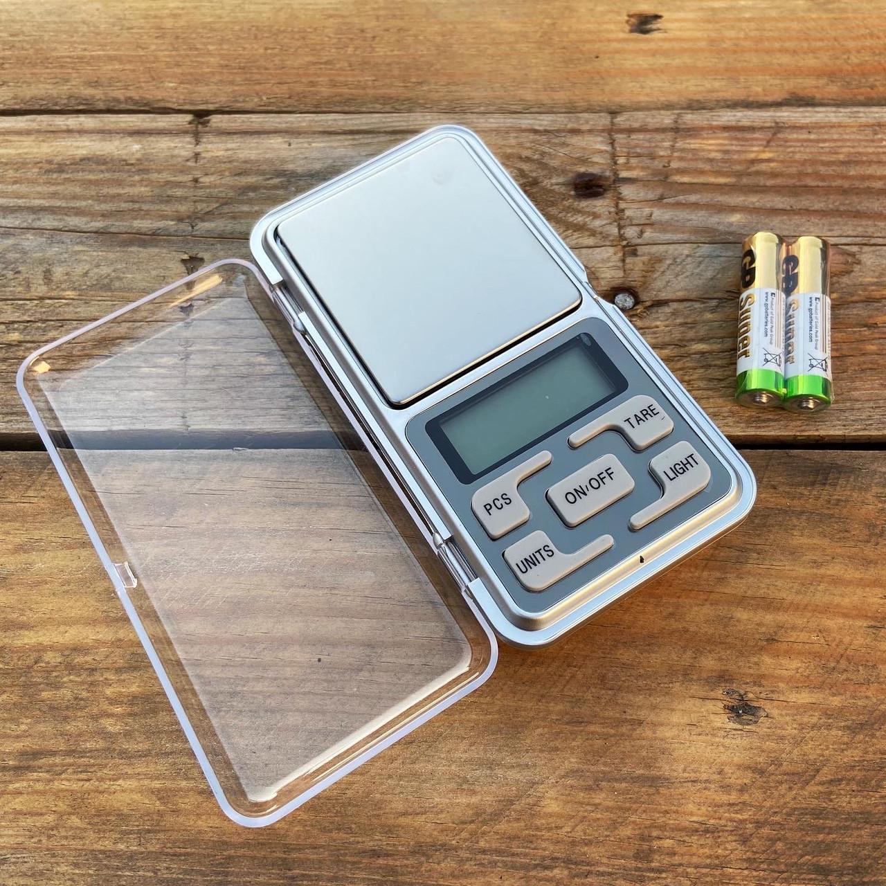Електронні ваги для мисливця 200/0,01 гр + батарейки GP