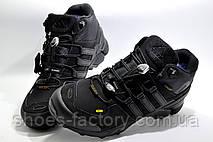 Зимние кроссовки на меху в стиле Adidas Terrex Gore-Tex, Black, фото 3