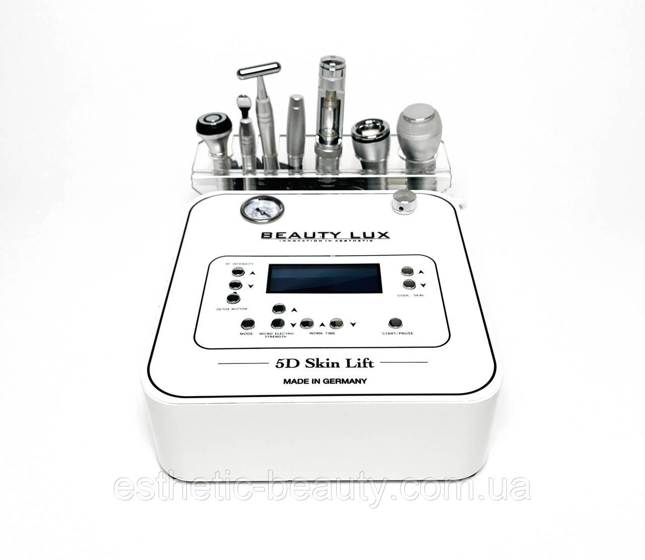 Аппарат Вакуумного массажа, Микротоковой терапии, Электропорации BEAUTY LUX 5D Skin Lift