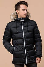 Зимняя подрастковая куртка с опушкой для мальчика 73563