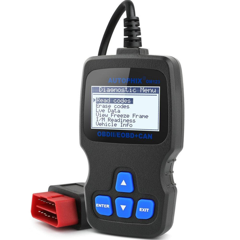 Авто сканер Autophix OM123 OBD2 для диагностики