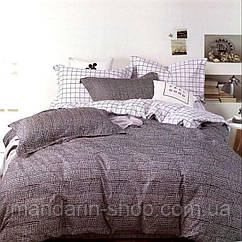 Комплект постельного белья двуспальный Евро Polka dots Сатин Фабричная Турция