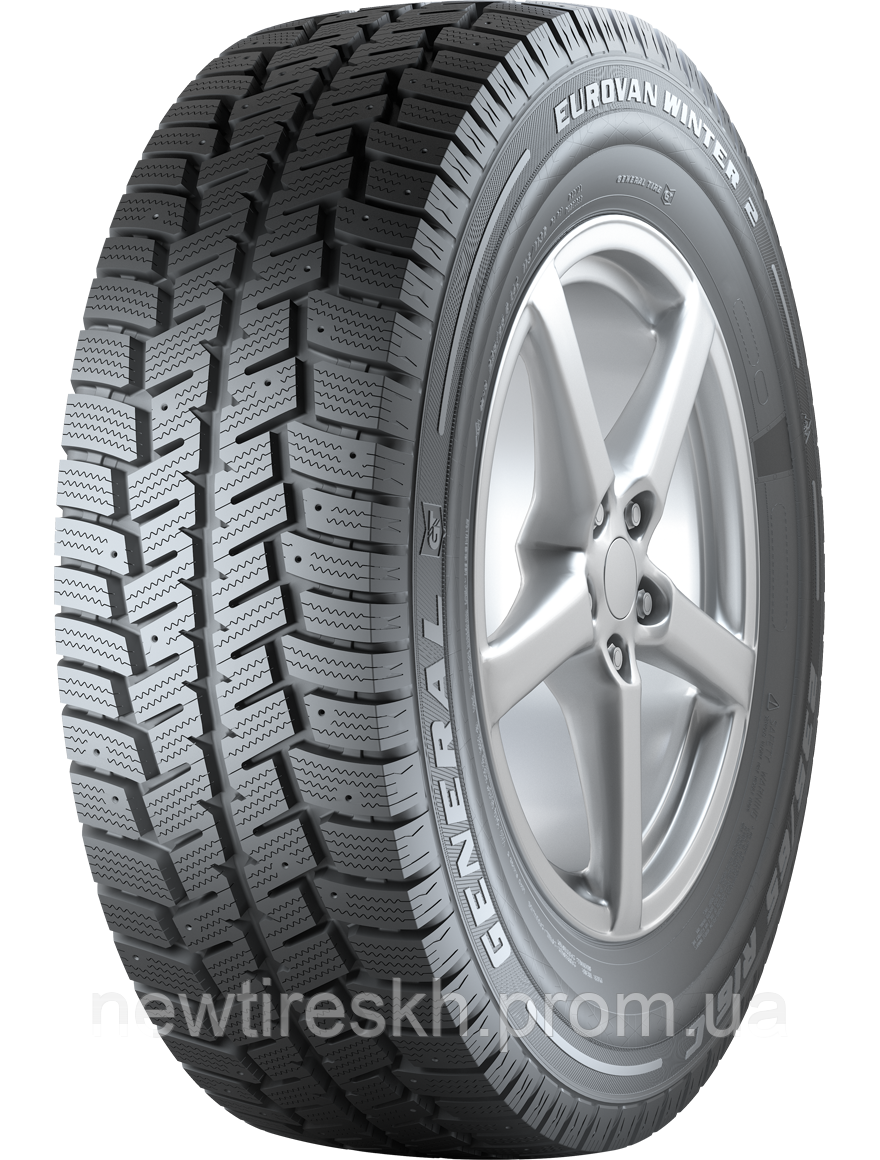 General Tire EuroVan Winter 2 185/80 R14C 102/100Q (шип)