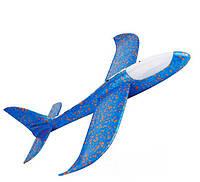 Метательный самолет планер светящийся по всей длине KS Touch Sky Plane Original Blue G3 48 см - 145880