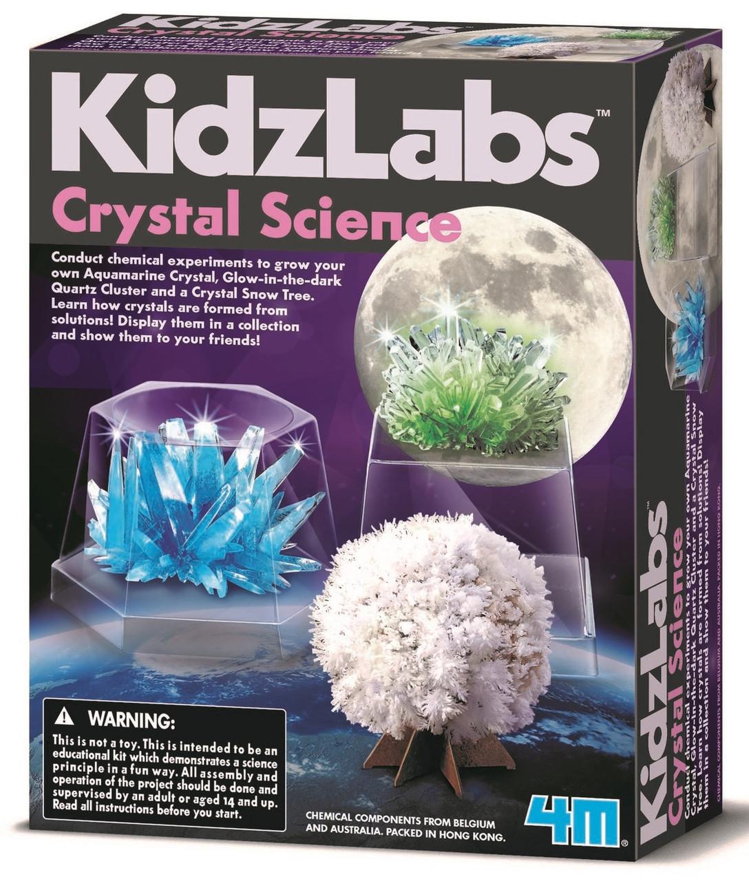 Набор для опытов Наука о кристаллах 4M (00-03917/EU)