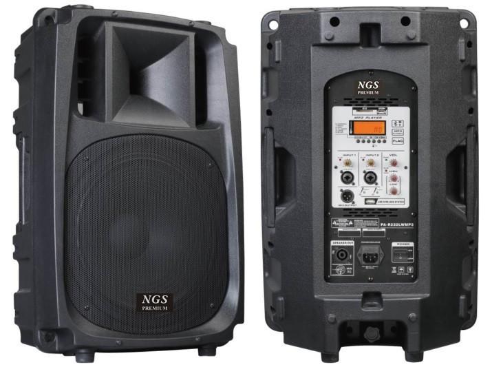 Купить Активная акустическая система NGS Premium PA-R532RMP3-2 15 , 350Вт с радиомикрофонами