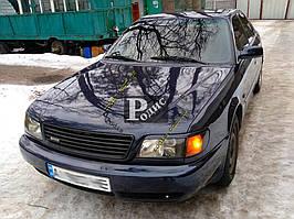 """Реснички на фары Audi A6 C4 1994-1997 """"Orticar"""" (стеклопластик)"""