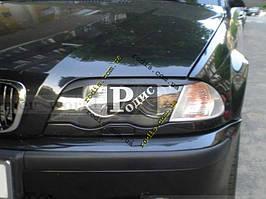 "Реснички на фары BMW 3 E46 ""Orticar"" (стеклопластик)"
