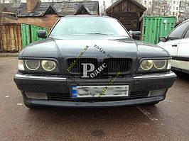 """Реснички на фары BMW 7 E38 """"Длинные"""" """"Orticar"""" (стеклопластик)"""