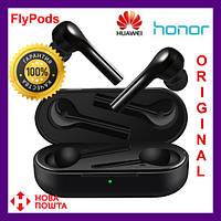 Оригинал Наушники Honor FlyPods Lite black (черные) bluetooth беспроводные наушники huawei