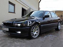 "Реснички на фары BMW 7 E38 ""Короткие"" ""Orticar"" (стеклопластик)"