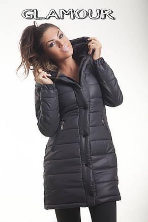 Зимняя куртка  с капюшоном, фото 2