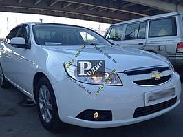 "Реснички на фары Chevrolet Epica ""Orticar"" (стеклопластик)"