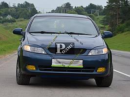 "Реснички на фары Chevrolet Lacetti hatchback ""Orticar"" (стеклопластик)"