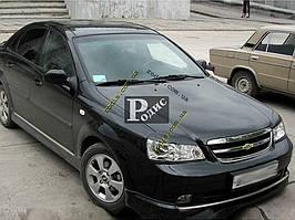 "Реснички на фары Chevrolet Lacetti sedan ""Широкие"" ""Orticar"" (стеклопластик)"