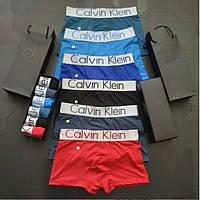 Набор мужскихтрусов / боксёров Calvin Klein ( 6 шт/уп ) Мужские трусы в стиле келвин кляйн