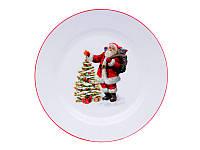 Тарелка сервировочная Новый год 358-949