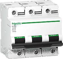 Автоматический выключатель Schneider Electric C120N 3П 80A C
