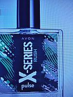 Туалетная вода мужская Avon X-Series Rush, 50 ml