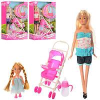 Кукла с дочкой, коляской и аксессуарами «Anlily» 99064, 30 см, 3 вида