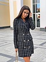 Женское короткое платье, фото 1