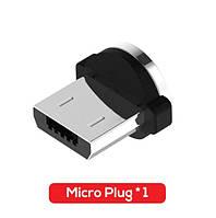Магнітний круглий конектор Micro USB TOPK для кутового кабеля