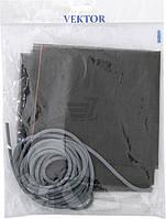 Москитная сетка универсальная готовая макс. р-р до 800х1600 мм серый