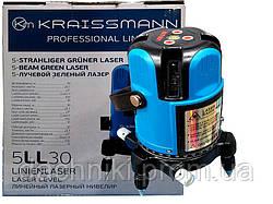 Лазерный уровень Kraissmann 5 LL 30 (зеленый луч)